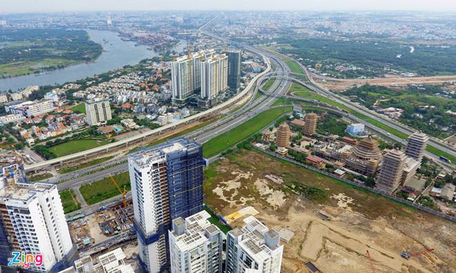 dự án bất động sản khu Đông