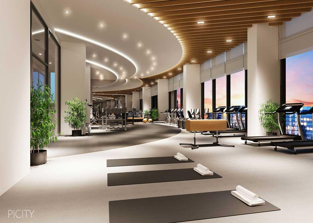 Khu vực Gym của Căn hộ PiCity