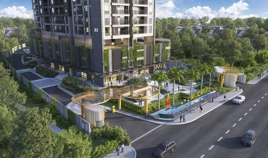 công viên dự án
